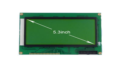 5.3 Inch Graphic LCD Module 240 X 128 Resolution STN Negative T6963c Controller