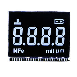 Metal PIN LCD Digital Display / HTN Positive Transflective Segment LCD Display