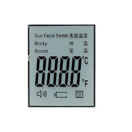 Custom Lcd 7 Segment Display Infrared thermometer Lcd Screen for Medical Device
