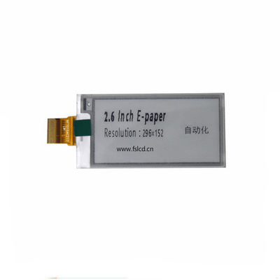 2.6 Inch 296*152 Dots Spi EDP Display For Price Tag